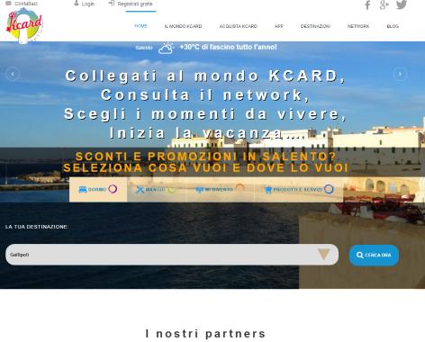 KCARD – progetto di promozione turistico-territoriale completo