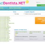 Annuncidentista.net – portale di annunci per Odontoiatri, Odontotecnici, Igienisti dentali ed operatori del settore odontoiatrico